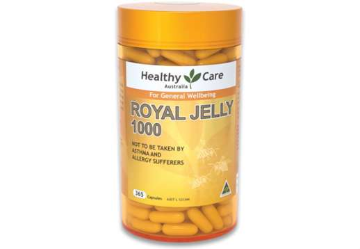 Royal Jelly 1000 365 Capsules - Healthy Care