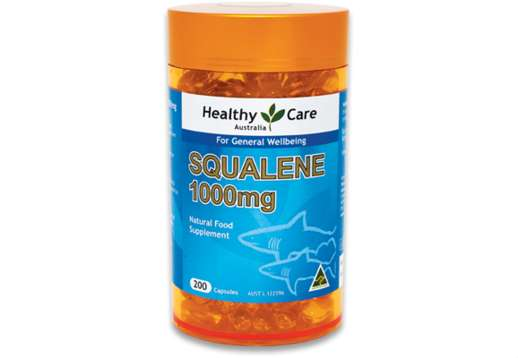 Squalene 1000mg 200 Capsules - Healthy Care
