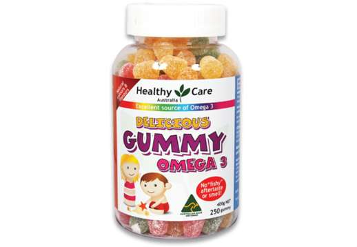Gummies Omega 3 250 Gummies - Healthy Care