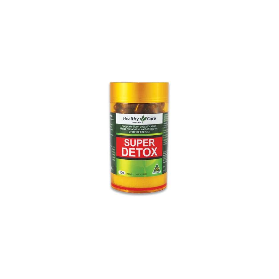 Super Detox 50 Days 100 Capsules - Healthy Care