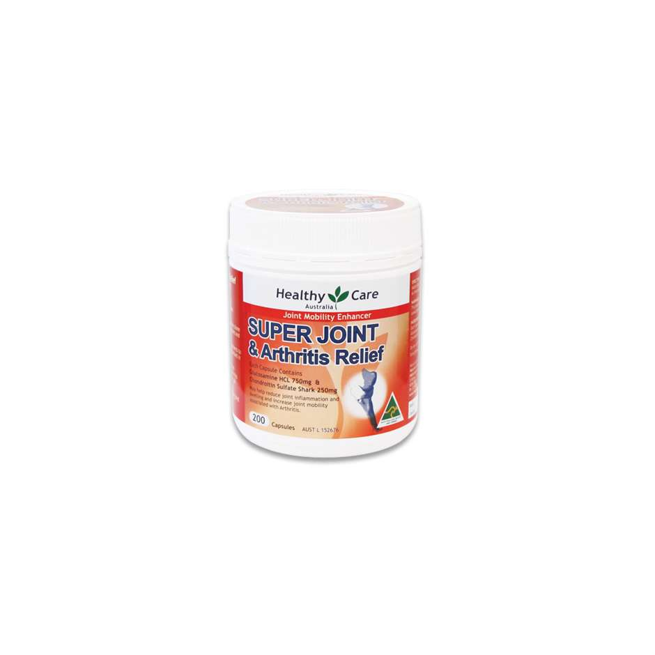 Super Joint & Arthritis Relief 200 Capsules - Healthy Care