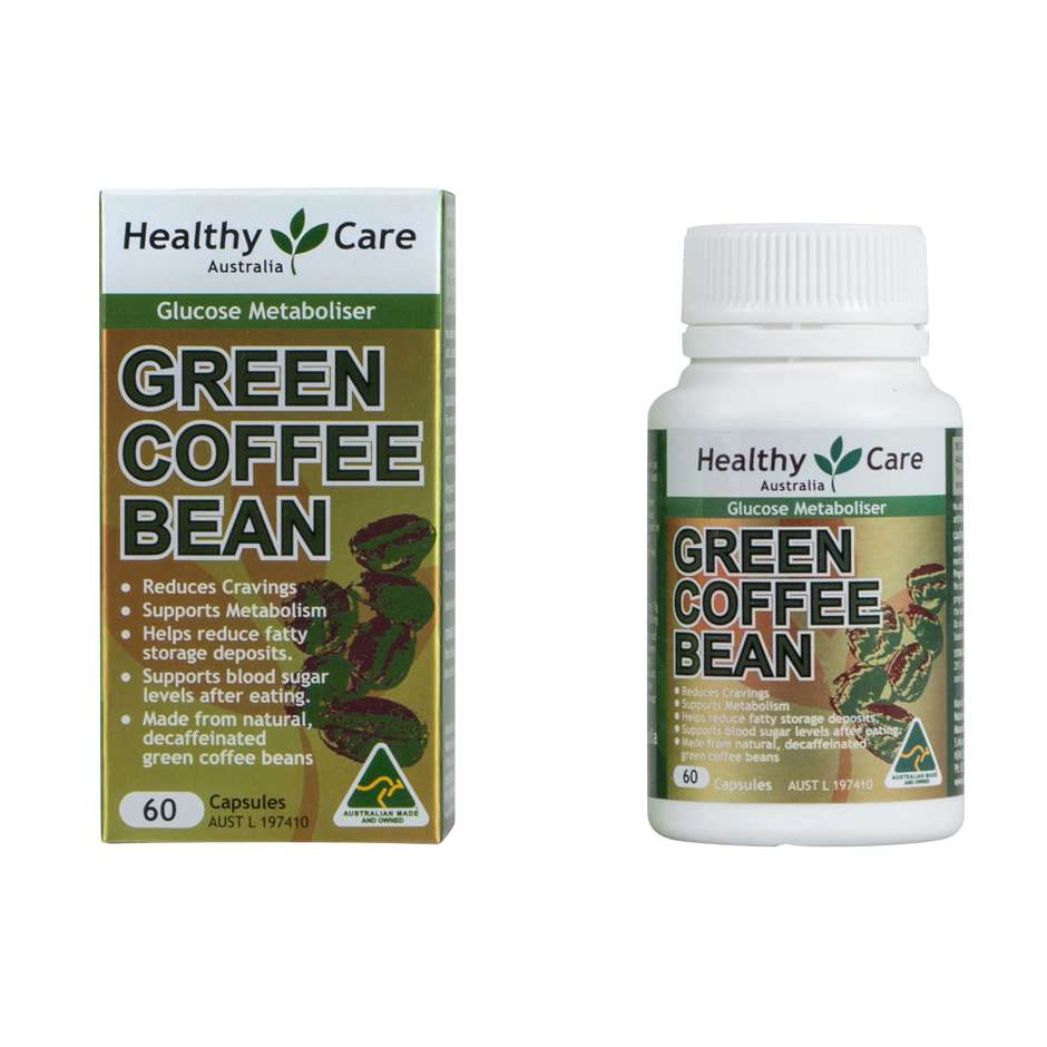 Green Coffee Bean 60caps - Healthy Care