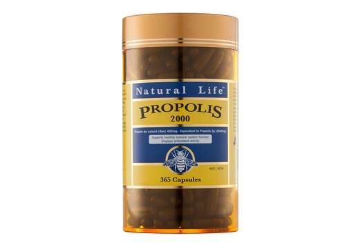 Propolis 2000mg 365 caps - Natural Life