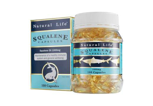 Squalene 1000mg 180 caps - Natural Life