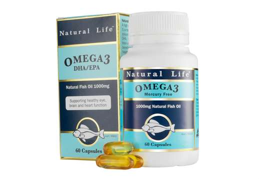 Omega 3 1000mg 60 caps - Natural Life