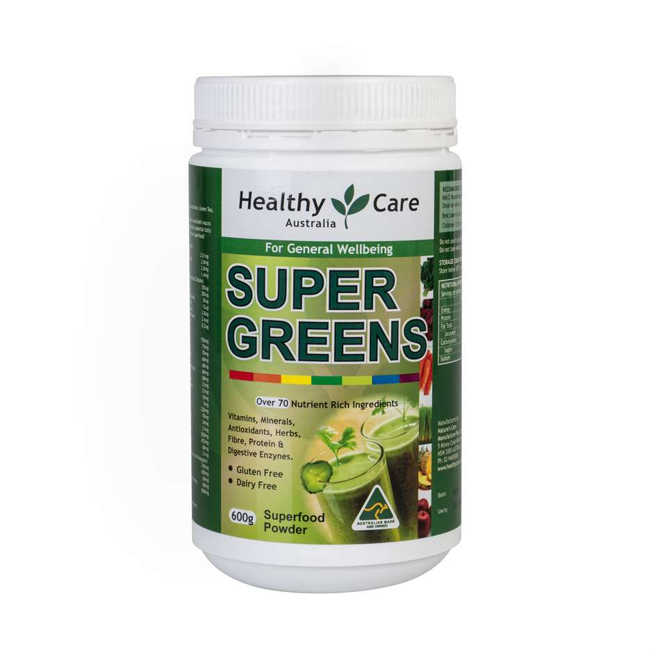Healthy Care Super Greens 600g