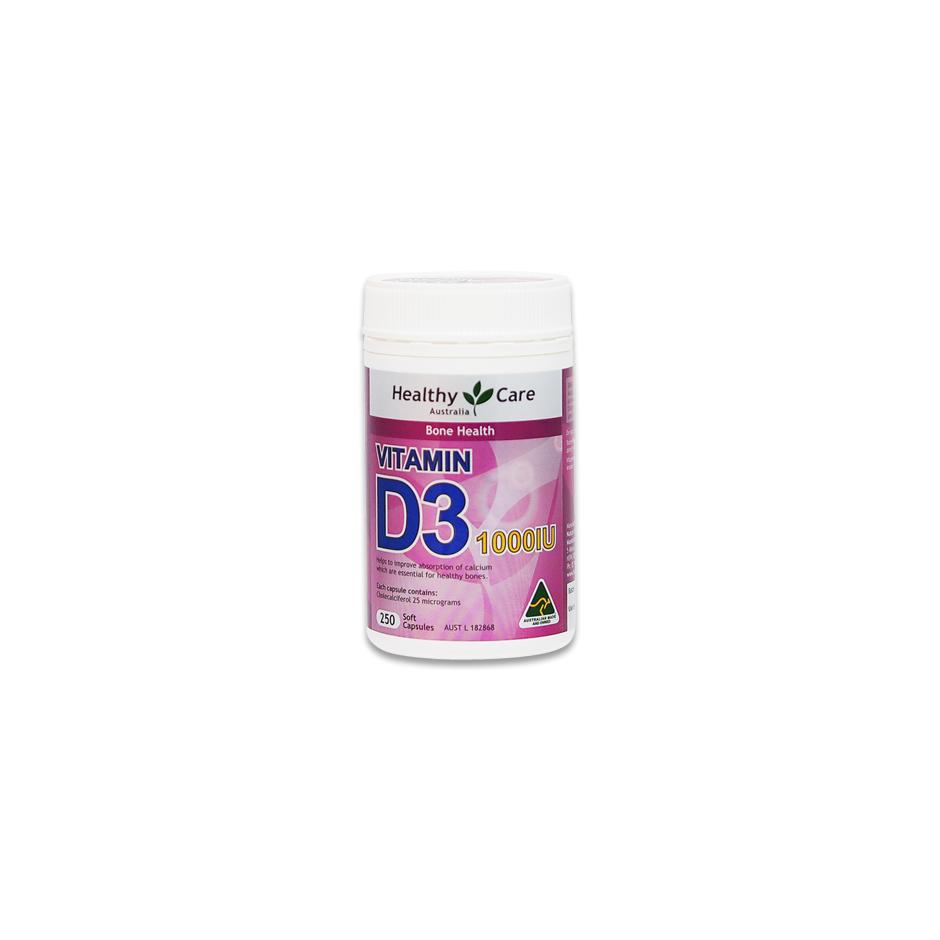 Healthy care vitamin d3